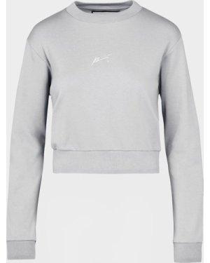 Women's Prevu Studio Signature Sweatshirt Grey, Grey