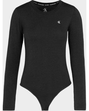 Women's Calvin Klein Underwear CK One Bodysuit Multi, Black/White