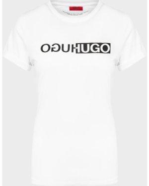 Women's HUGO Reflective T-Shirt White, White
