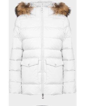 Women's Pyrenex Authentic Soft Padded Jacket White, White