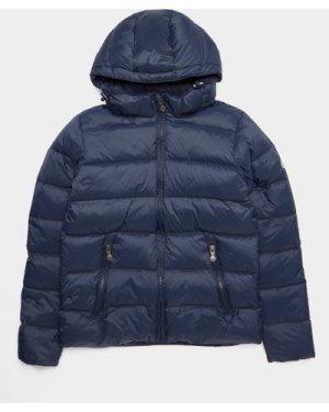 Kid's Pyrenex Spoutnic Matte Jacket Blue, Navy