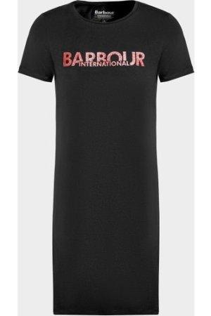 Kid's Barbour International Drift Dress Black, Black