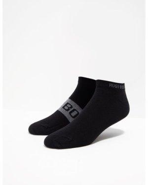 Men's BOSS 2 Pack Trainer Socks Black, Black