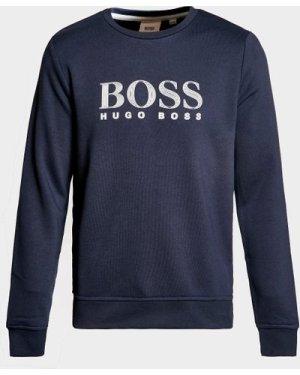 Kid's BOSS Classic Logo Sweatshirt Blue, Navy
