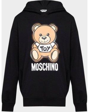 Kid's Moschino Bear Hoodie Black, Black