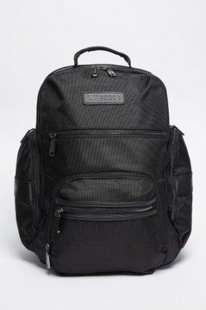 Men's Valentino Bags Anakin Large Backpack Black, Black/Black