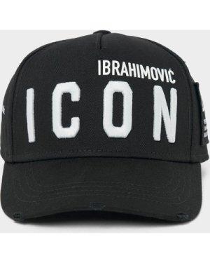 Men's Dsquared2 Ibra Icon Cap Black, Black