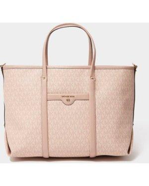 Women's Michael Kors Beck Conv Tote Bag Pink, Pink