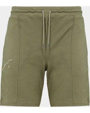 Men's Prevu Studio Signature Shorts Green, Green