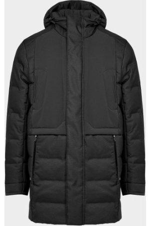 Men's BOSS Ontario Down Parka Jacket Black, Black