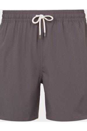 Men's Polo Ralph Lauren Basic Swim Shorts Grey, Grey/Grey