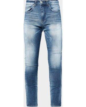 Men's Represent Bleach Jeans Blue, Blue