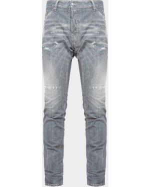 Men's Dsquared2 Cool Whisker Jeans Grey, Grey