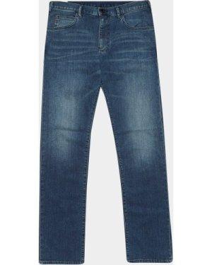 Men's Emporio Armani J45 Regular Jeans Blue, Blue
