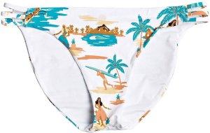Roxy PT Beach Classics Fa Full Bikini Bottom bright white honolulu s