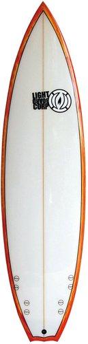 Light Quad Performance Shortboard 6'5 no color