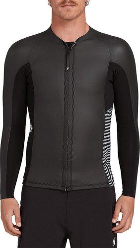 Volcom Stone Zip Jacket Longsleeve Lycra black