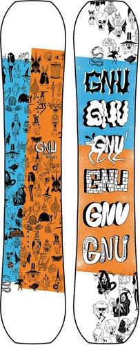 Gnu Young Money 140 2021 Snowboard uni