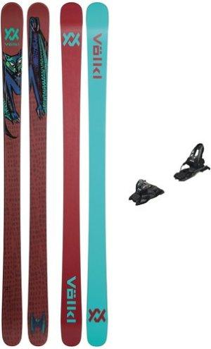 Völkl Bash 81mm Flat 158 + Free Ten ID 85mm 2021 Ski Set uni