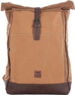 Iriedaily Heavy Rolltop Backpack brown melange