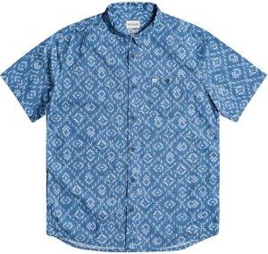Quiksilver Baja Blues Shirt blue heaven baja blues