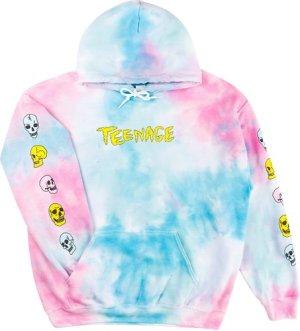 Teenage Meltdown Hoodie tie dye