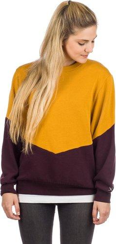 Iriedaily Luv Sweater gold aubergine