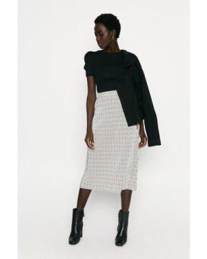 Womens Rib Puff Sleeve Top - black, Black
