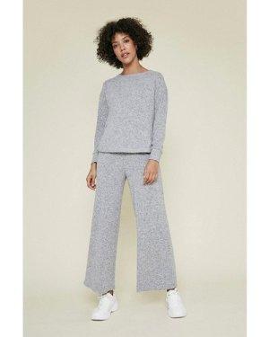 Womens Cosy Culotte - grey, Grey