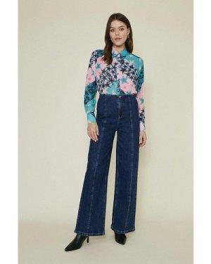 Womens Star Print Shirt - multi, Multi