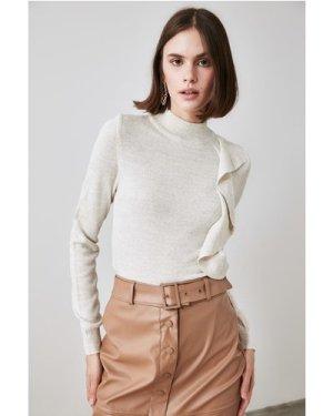 Trendyol Little Mistress x Trendyol Stone Flywheel Knitwear Sweater si
