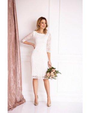 Alie Street London Macie Lace Bridal Dress size: 14-16 UK, colour: Ivo