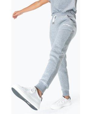 HYPE GREY SCRIBBLE LOGO WOMEN'S JOGGERS size: 10, colour: Grey