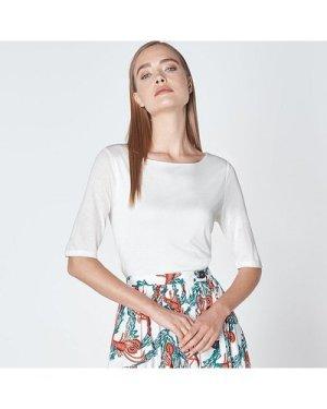 Trina Ivory  T-Shirt, Ivory