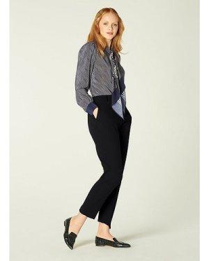 Wren Black Trousers, Black