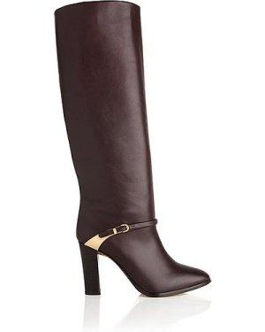 Harlie Oxblood Leather Knee Boots, Oxblood