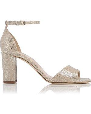 Helena Gold Sandals, Soft Gold