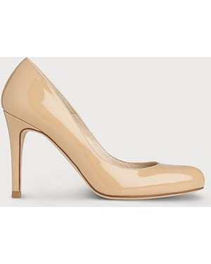Stila Nude Patent Round Toe Courts, Trench