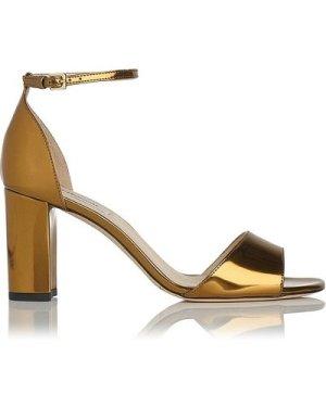Helena Gold Formal Sandals, Warm Gold