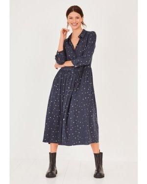 hush star Lianne Printed Shirt Dress Star