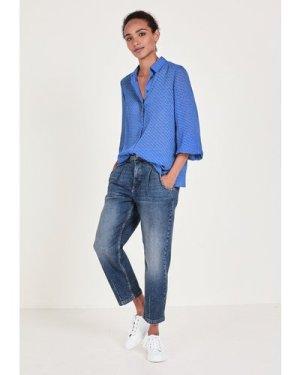 hush ampora-blue Rosie Shirt Blue