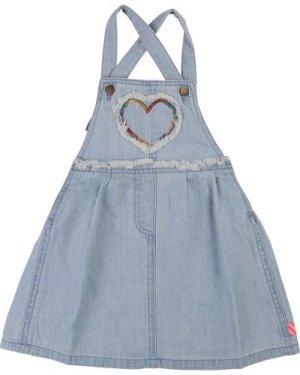 Denim strappy dress with heart BILLIEBLUSH INFANT GIRL