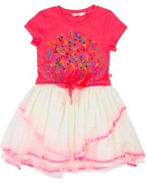 Jersey and tulle dress BILLIEBLUSH KID GIRL