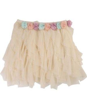 Tulle skirt with flowers BILLIEBLUSH KID GIRL