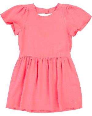 Twill dress CARREMENT BEAU KID GIRL