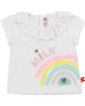 Cotton T-shirt with ruff BILLIEBLUSH INFANT GIRL