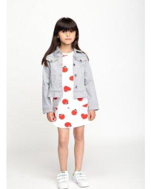 Cotton fleece dress BILLIEBLUSH KID GIRL