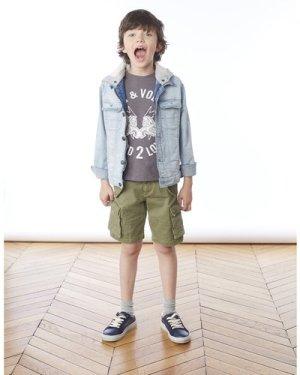Cotton vest top with print ZADIG & VOLTAIRE KID BOY