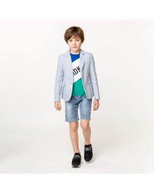 Striped suit jacket CARREMENT BEAU KID BOY