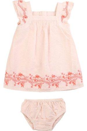 Dress and bloomers set CARREMENT BEAU NEWBORN GIRL